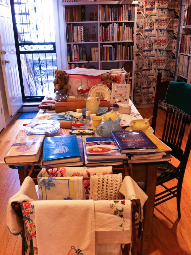 Bonnie Slotnick Cookbooks in the East Village